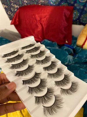 SEXYSHEEP 8/16/20 Pairs 3D False Eyelashes - Natural Thick/Long Eyelashes photo review
