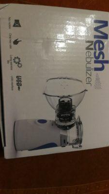 Portable Mini Nebulizer Inhaler Children Adult Handheld Nebulizer Kit photo review
